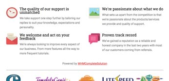 whmcs skin why choose us page