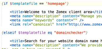 how to add meta tags in php website