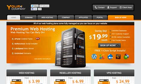 Premium web hosting templates for WHMCS & Wordpress | exclusive ...