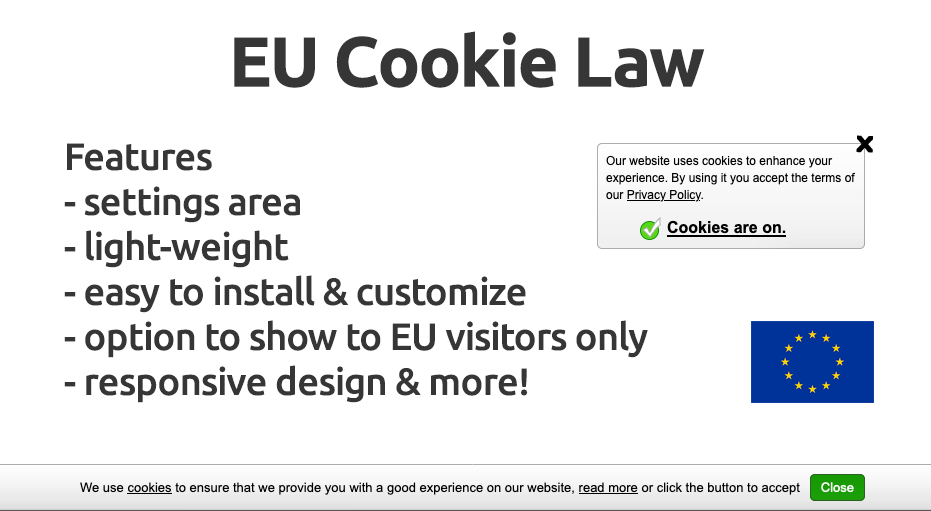 EU Cookie Law Script