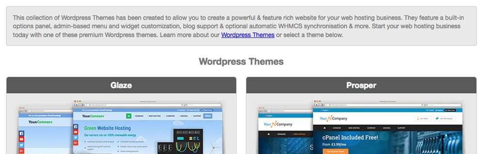 wordpress themes affiliates integration