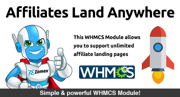 Affiliates Land Anywhere WHMCS Module
