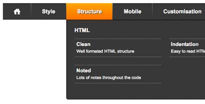 CSS Mega Menu - A premium quality mega menu developed from scratch ...