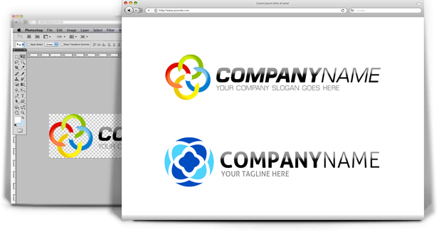 Premium PSD AI Logo Templates Logo Themes Logos Vector Logos - Logo layout templates