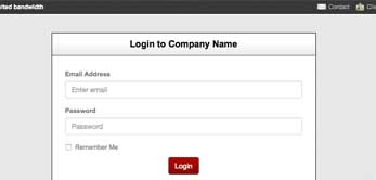 HTML Orbit WHMCS Integration - login