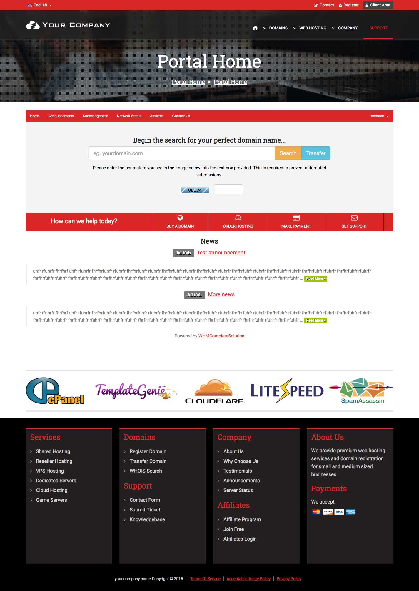 html5 css3 responsive template a highly professional website