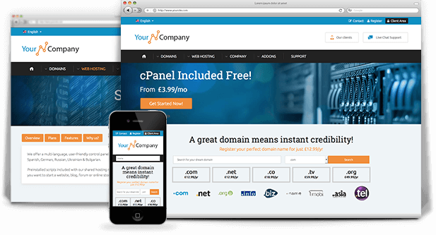 Html template for web hosting providers a highly professional prosper html template maxwellsz