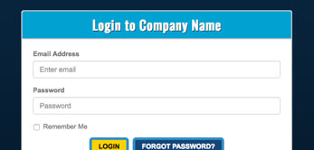 whmcs template integration slimmed login