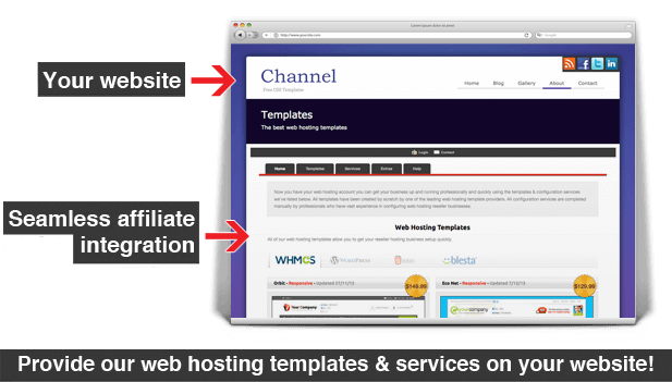 whitelabel window affiliate integration