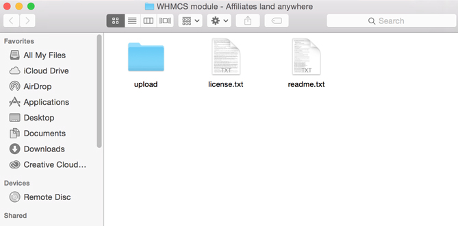 WHMCS affiliates land anywhere package