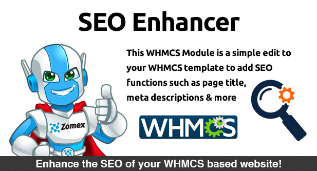 SEO Enhancer WHMCS Module