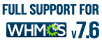 WHMCS Templates support V7.6